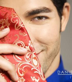 Daniel Dolce Neckwear Shane Duffy White Logo