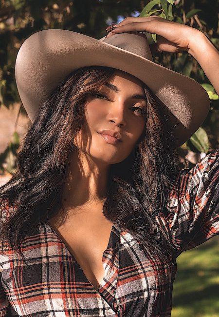 Itzel Garcia Cowboy hat