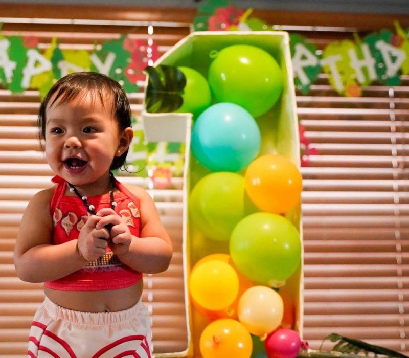 Elana Joy 1 year old